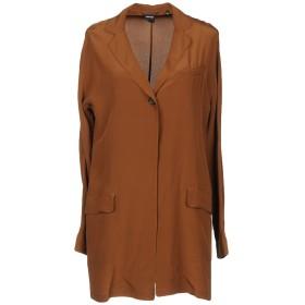 《セール開催中》ASPESI レディース テーラードジャケット ブラウン 40 シルク 100%