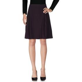 《セール開催中》ALPHA STUDIO レディース ひざ丈スカート ダークパープル 48 レーヨン 65% / ナイロン 31% / ポリウレタン 4%