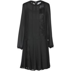 《期間限定セール開催中!》MY TWIN TWINSET レディース ミニワンピース&ドレス ブラック XXS 100% ポリエステル