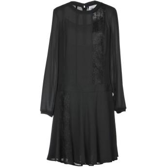 《セール開催中》MY TWIN TWINSET レディース ミニワンピース&ドレス ブラック XXS 100% ポリエステル
