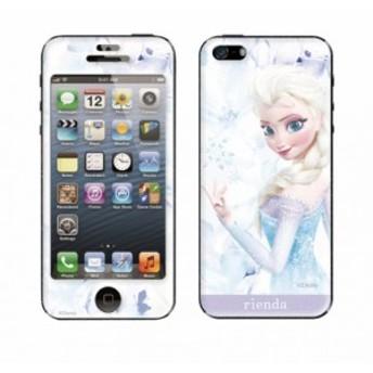 Disney(ディズニー) × rienda(リエンダ) × Gizmobies / Elsa flower 【iPhone5/5s専用Gizmobies】
