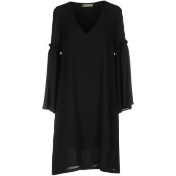 《セール開催中》FEDERICA ERRE レディース ミニワンピース&ドレス ブラック 44 ポリエステル 100%