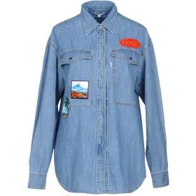 《9/20まで! 限定セール開催中》KENZO レディース デニムシャツ ブルー 34 コットン 100%