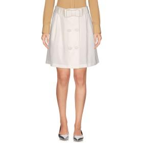 《期間限定 セール開催中》BLUEFEEL by FRACOMINA レディース ミニスカート ホワイト 40 ナイロン 97% / ポリウレタン 3%