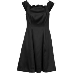 《セール開催中》BADGLEY MISCHKA レディース ミニワンピース&ドレス ブラック 8 ポリエステル 100%