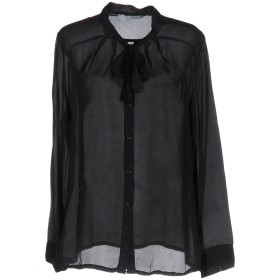 《期間限定 セール開催中》KAOS レディース シャツ ブラック L レーヨン 70% / シルク 30%