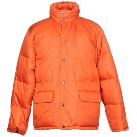 《期間限定セール開催中!》ASPESI メンズ ダウンジャケット オレンジ M ナイロン 100%