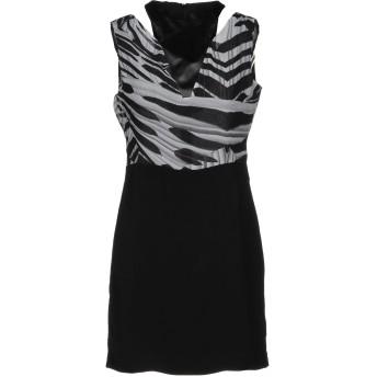 《期間限定セール開催中!》GUESS BY MARCIANO レディース ミニワンピース&ドレス ブラック 40 ポリエステル 100%