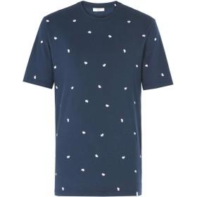 《期間限定 セール開催中》MINIMUM メンズ T シャツ ダークブルー S コットン 100% CANTEN 3147
