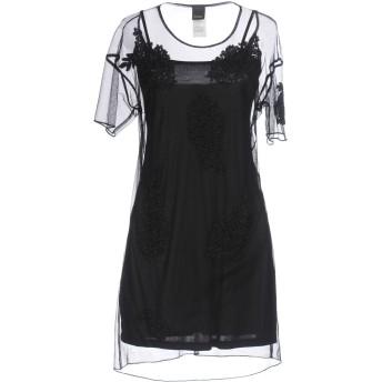 《セール開催中》PINKO レディース ミニワンピース&ドレス ブラック 40 ポリエステル 100%