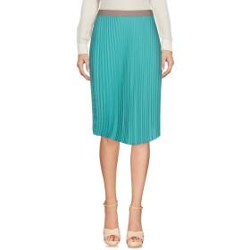 《セール開催中》MALPARMI レディース ひざ丈スカート ターコイズブルー 42 ポリエステル 100%