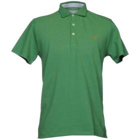 《セール開催中》NEW ENGLAND メンズ ポロシャツ グリーン S コットン 100%