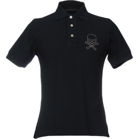 《期間限定セール開催中!》HYDROGEN メンズ ポロシャツ ダークブルー XS 100% コットン