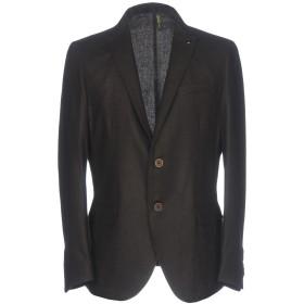 《期間限定セール開催中!》LIU JO MAN メンズ テーラードジャケット ダークブラウン 44 ポリエステル 40% / ウール 40% / アセテート 20%