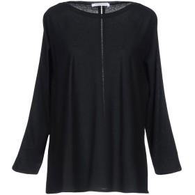 《期間限定セール開催中!》LAMBERTO LOSANI レディース T シャツ ブラック XS コットン 100%