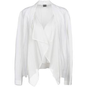 《期間限定セール開催中!》CREA CONCEPT レディース テーラードジャケット ホワイト 36 レーヨン 50% / 麻 50% / ラミー