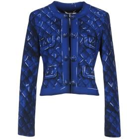 《期間限定セール開催中!》MOSCHINO レディース テーラードジャケット ブルー 36 トリアセテート 64% / ポリエステル 36%