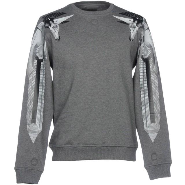 《期間限定セール開催中!》FRANKIE MORELLO メンズ スウェットシャツ グレー S コットン 100%