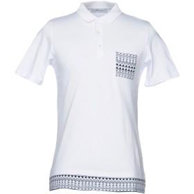 《送料無料》HAMAKI-HO メンズ ポロシャツ ホワイト S コットン 100%
