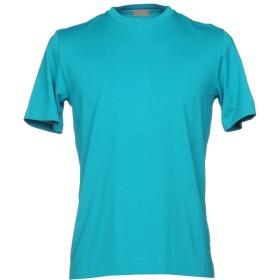 《期間限定 セール開催中》CRUCIANI メンズ T シャツ エメラルドグリーン 54 コットン 92% / ポリウレタン 8%