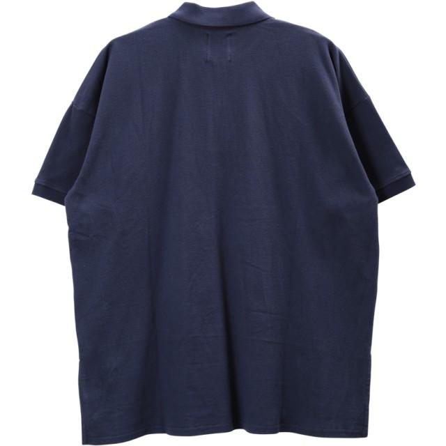 ポロシャツ - JIGGYS SHOP ◆NIIRUS(ニールス)鹿の子ビッグシルエット半袖ポロシャツ◆