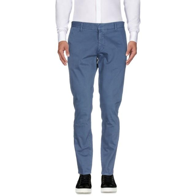 《期間限定セール開催中!》TRU TRUSSARDI メンズ パンツ ブルーグレー 50 コットン 97% / ポリウレタン 3%