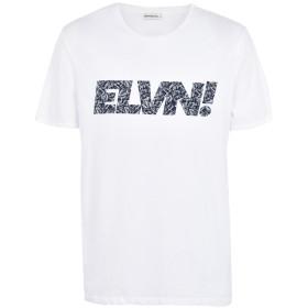 《期間限定セール開催中!》ELEVEN PARIS メンズ T シャツ ホワイト M コットン 100% SLEVEN M