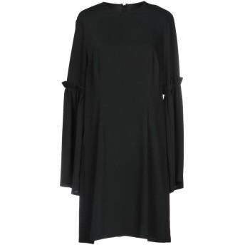 《セール開催中》MM6 MAISON MARGIELA レディース ミニワンピース&ドレス ブラック 40 100% ポリエステル