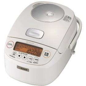 NP-BH10 炊飯器 極め炊き ホワイト [5.5合 /圧力IH]