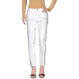 《期間限定セール開催中!》BLUGIRL BLUMARINE レディース パンツ ホワイト 40 コットン 98% / ポリウレタン 2%