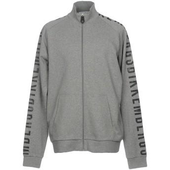 《9/20まで! 限定セール開催中》BIKKEMBERGS メンズ スウェットシャツ グレー S コットン 100%