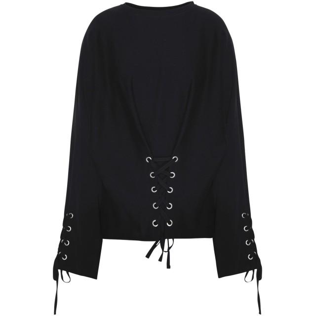 《セール開催中》JOLIE by EDWARD SPIERS レディース スウェットシャツ ブラック XS コットン 100%