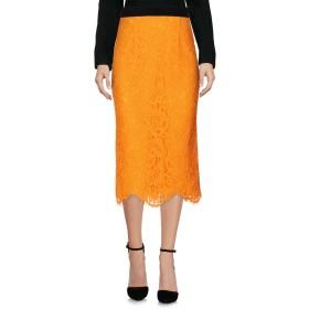 《セール開催中》MARCO BOLOGNA レディース 7分丈スカート オレンジ 40 レーヨン 40% / ナイロン 35% / コットン 25%