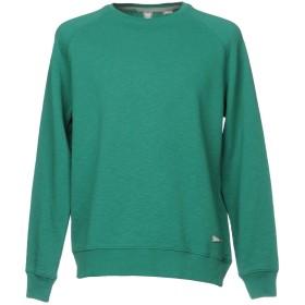 《期間限定 セール開催中》STUDENT メンズ スウェットシャツ ディープジェード XS コットン 100%