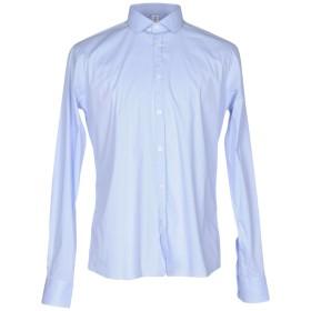 《期間限定 セール開催中》ETICHETTA 35 メンズ シャツ アジュールブルー 42 コットン 97% / ポリウレタン 3%