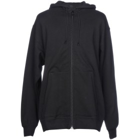 《期間限定 セール開催中》ALEXANDER WANG メンズ スウェットシャツ ブラック S コットン 81% / ポリエステル 19%