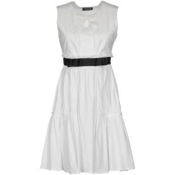 《セール開催中》TWINSET レディース ミニワンピース&ドレス ホワイト 42 コットン 95% / ポリウレタン 5%