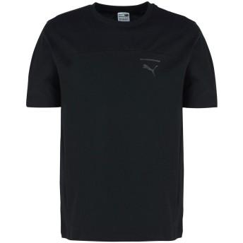 《期間限定セール開催中!》PUMA メンズ T シャツ ブラック S コットン 100% Pace Primary Tee