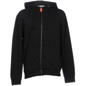 《期間限定セール開催中!》BIKKEMBERGS メンズ スウェットシャツ ブラック XS コットン 69% / ポリエステル 31% / ポリウレタン