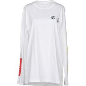 《期間限定セール開催中!》CHIARA FERRAGNI レディース T シャツ ホワイト M 100% コットン