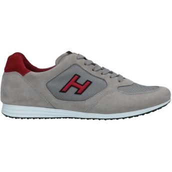 《セール開催中》HOGAN メンズ スニーカー&テニスシューズ(ローカット) ドーブグレー 5.5 紡績繊維 / 革