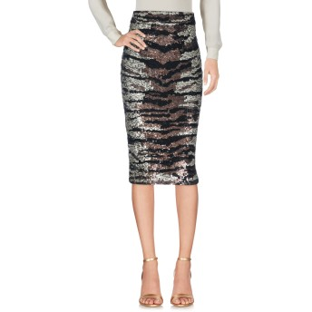 《セール開催中》ELISABETTA FRANCHI GOLD レディース 7分丈スカート ブロンズ 40 ポリエステル 100%