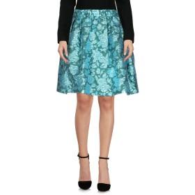 《セール開催中》MSGM レディース ひざ丈スカート エメラルドグリーン 40 ポリエステル 50% / ナイロン 27% / 金属繊維 23%