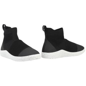 《セール開催中》ADNO メンズ ショートブーツ ブラック 44 紡績繊維 / ゴム AO RIB 5.10