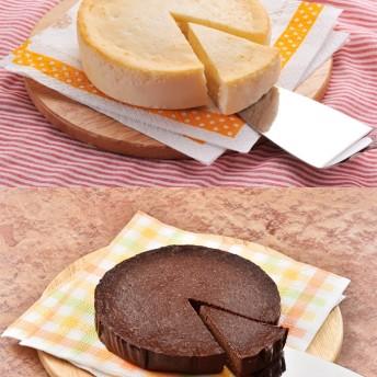 マルシェセレクト 【花畑牧場】濃厚ガトーショコラ&生カマンベールチーズケーキ