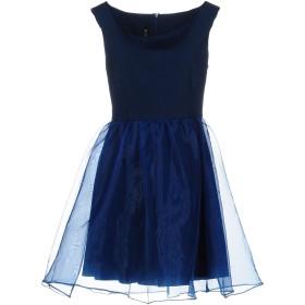 《9/20まで! 限定セール開催中》LUNATIC レディース ミニワンピース&ドレス ダークブルー M 94% ポリエステル 6% ポリウレタン