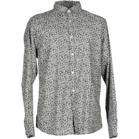 《期間限定セール中》SELECTED HOMME メンズ シャツ ダークブルー L コットン 100%