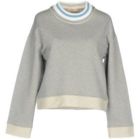 《期間限定 セール開催中》SSHEENA レディース スウェットシャツ グレー L コットン 100%