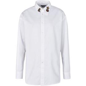 《期間限定セール開催中!》POLO RALPH LAUREN レディース シャツ ホワイト 8 コットン 100% Lightweight Oxford Shirt