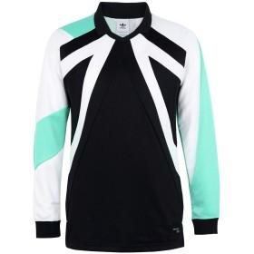 《期間限定 セール開催中》ADIDAS ORIGINALS メンズ スウェットシャツ ブラック XS ポリエステル 73% / レーヨン 27% EQT 18 LS